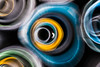 Abstractions (The Frustrated Photog (Anthony) ADPphotography) Tags: abstract art category emirdag lensdrag places snow travel turkey zoomburst pipes construction colourful canon canon70d canon1585mm travelphotography outdoor
