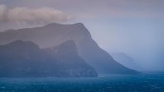 Cape oceans of blue (Coisroux) Tags: atlantic mist fog mountains seascape d5500 nikond dramatic atmospheric capetown peninsula waves stormy clouds 7dwf hss