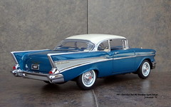 1957 Chevrolet Bel Air Hardtop Sport Coupe (JCarnutz) Tags: 124scale diecast franklinmint 1957 chevrolet belair