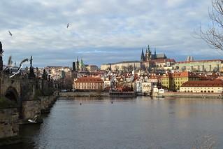 Karlův most and Pražský hrad