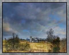 Shades of gray.... (Sherrianne100) Tags: silo gray oldbarn barn rural farm ozarks missouri