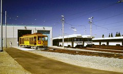 LRVs & Trolley (en tee gee) Tags: trolley lightrail sanjose electric california