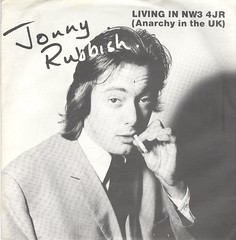 Rubbish, Johnny - Living In NW3 4 JR - Anarchy In The UK - UK - 1978 (Affendaddy) Tags: vinylsingles johnnyrubbish livinginnw34jr anarchyintheuk unitedartists up36405 uk 1978 1970searlypunkwave collectionklaushiltscher
