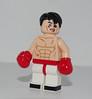 Lego Rocky Balboa (501st DESIGNS) Tags: lego rocky balboa sylvester stallone minifigure custom