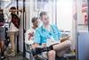 7/365 A Town Called Malice (J. Aaron Delgado) Tags: photography metro subway no pants ride underwear expo line red 365 7365 photo nurse passenger rider 2018