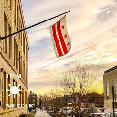 Still/Always #activetransportation ❤️ Washington, DC USA ✌️💫 #DC #instaDC #DCflag