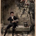 Das Buch für Alle ,Illustrierte familien Zeitung 1900 , ill der belauschte Dichter thumbnail