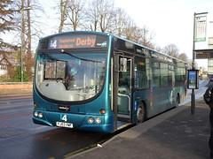 trent barton 617 QMC (Guy Arab UF) Tags: trent barton 617 fj03vwf scania l94ub wright solar bus qmc nottingham nottinghamshire wellglade buses wellgladegroup