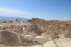 Zabriskie Point, Death Valley (cpbs1965) Tags: badlands deathvalley zabriskie mountain rock landscape sky scenic california usa