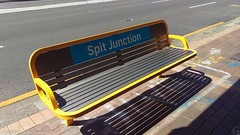 B-Line Northern Beaches - Spit Junction Street Furniture (john cowper) Tags: bline northernbeaches spitjunction seat streetscape spitroad streetfurniture bus buses busstop transportfornsw statetransit suburbs sydney newsouthwales
