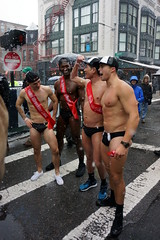 Santa Speedo Run 2017, Boston MA (Boston Runner) Tags: boston massachusetts charity backbay sexy snow holiday christmas 2017 santa speedo run team wrecking ballz