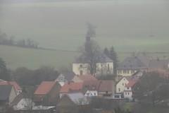 triest nass im Nebel, die Ransweilerer Kirche (reipa59) Tags: landscape landschaft triest nass regen nebel kirche ransweiler rheinlandpfalz
