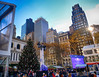 Christmas Tree in New York City (` Toshio ') Tags: toshio nyc newyorkcity newyork manhattan bryantpark christmastree christmas city midtown newyorklibrary people wintervillage buildings architecture fujixt2 xt2 christmasmarket
