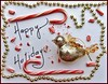 Happy Holidays! (Maggggie) Tags: 52in2017 happy holidays bird ornament candy cane beads greetings