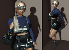 LOTD 458 (Daphne Kyong - The Real Slim Shady) Tags: ryca gold black vynil shades