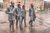 Happy  Christmas from Liverpool (alancookson) Tags: fujixt1201217 beatles statue liverpool pierhead christmas