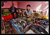 Urgut UZ - Bazaar cobbler (Daniel Mennerich) Tags: silk road uzbekistan urgut history architecture hdr bazaar schuster handwerk cobbler