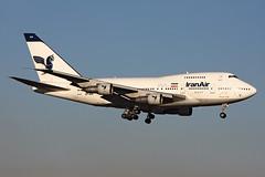 Iran Air  Boeing 747SP-86 EP-IAA (widebodies) Tags: london heathrow lhr egll widebody widebodies plane aircraft flughafen airport flugzeug flugzeugbilder iran air boeing 747sp86 epiaa