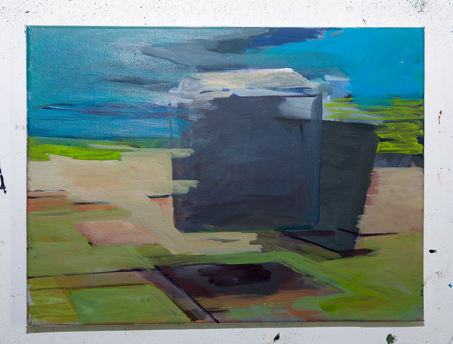 30x 40 cm  Eitempera/Pigmente auf Nessel  2017