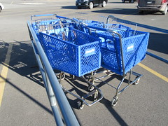 ShopKo Carts (TheTransitCamera) Tags: cart trolley buggy basket wheeled shopko discount variety retail shopping store consumer austin minnesota