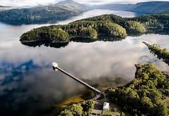 Una centrale idroelettrica si trasforma in un hotel in mezzo al lago della Tasmania (Cudriec) Tags: architettura design hotel lapumphousepoint ristruttuare tasmania