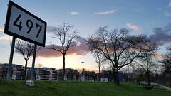 River Marker 497 (grinnin1110) Tags: de deutschland europe germany landeshauptstadt mainz noahsark rheinlandpfalz rhinelandpalatinate spielplatz stresemannufer outdoor playground sunsetcolors