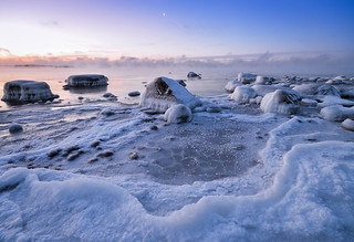 Morning in the Ice World
