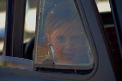 Shattered Dreams (Tim @ Photovisions) Tags: nebraska ratrod truck window car girl