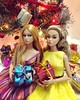 The Christmas sisters (duckhoa_le) Tags: poppy parker fashion royalty integrity toys doll dolls barbie christmas holiday golden snow white winter wonderland lights photography portrait girl women lovely beautiful groovy galore young sophisticate
