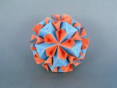 Conophytum (masha_losk) Tags: kusudama кусудама origamiwork origamiart foliage origami paper paperfolding modularorigami unitorigami модульноеоригами оригами бумага folded symmetry design handmade art
