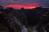 Pico del Fraile (Hector Prada) Tags: amanecer cielo nubes invierno cañon rocas sunrise sky clouds winter canyon rocks luz lights paisvasco basquecountry nieve snow