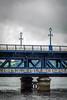 UK - Irlanda del Norte - Londonderry - River Foyle and Craigavon Bridge (Marcial Bernabeu) Tags: marcial bernabeu bernabéu ireland irish northern irlandes irlandés irlanda norte northernireland londonderry derry blue bridge river puente rio río foyle craigavon