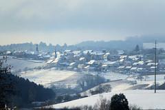 Champvent dans la neige ! (Jean-Daniel David) Tags: village champvent suisse suisseromande neige vaud champ forêt hiver blanc paysage