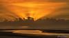 Sun rays at Sunset (BraCom (Bram)) Tags: 169 blog bracom bramvanbroekhoven brouwersdam goereeoverflakkee nederland netherlands noordzee northsea ouddorp southholland zuidholland avond cloud duinen dunes evening reflection sea spiegeling sunrays sunset water widescreen wolken zand zandbank zee zonnestralen zonsondergang nl