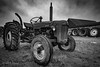 Tractor blues (janmn76) Tags: old worn tractor blackandwhite bw farm rusty faithful machine nikon nikonphotography d7200 tamron opdagdanmark visitdenmark classic clouds