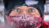 -31ºC (richardnz308) Tags: malignecanyon maligne jasper alberta jasperalberta canyon eyes eyelashes ice vapour frozen winter blueeyes kiwi fern newzealander newzealand face expression