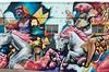 You're in luck (dangr.dave) Tags: architecture denton dentoncounty downtown historic texas tx mural hairsalon luckylocksbeautybar