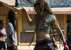 Whirl (yowser85) Tags: festivals girl woman braless dancing hippie