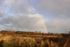 rainbow (kokoschka's doll) Tags: rainbow bishopauckland westauckland clouds sky