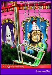 Have some Fun  01 (M.J.Woerner) Tags: carousel funfair christmasmarket merriment clown