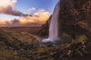 Seljalandfoss dream (Toni_pb) Tags: iceland islandia landscape paisaje panorama panoramica pano panoramic water waterscape warm wild waterfall winter winterscape fall foss seljalandfoss minimalist mystic bracketing travel trip worldphotoxperience