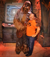 IMG_8310 (danimaniacs) Tags: disneyland starwars wookie chewbacca smile