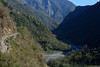 Road Upriver (Bob Hawley) Tags: asia taiwan nantoucounty nikond7100 nikkor35135mmf3545lens mountains outdoors nature hiking xinyidistrict no16provincialhighway choshuiriver dilivillage forest trees roads valleys