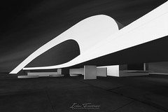 Niemeyer II (Iván F.) Tags: blackandwhite byn blancoynegro city cityscape architecture urban fineart explore explorer exploration inexplore