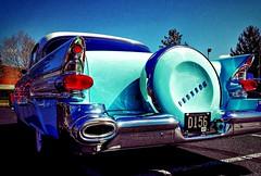 Fins! Tailights! Chrome! 50's Pontiac (delmarvausa) Tags: vintage car automobile pontiac classiccars classicpontiac vintageautomobiles classics starchief pontiacstarchief vintagecar carsofthepast yesteryear americanautomobiles vintagecars aqua teal automobiles classicautomobiles colorful tailights chrome fins rearend fifties carsofthe1950s 1950s 50s vintageautomobile classic oldcars classicautomobile carsofthefifties carsofthe50s
