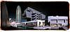 Torre Agbar i Museu del Disseny (Ar@lee) Tags: ir infraroig barcelona catalunya airelibre torreagbar jeannouvel clot bordeparafotos construcción d50 espectrecomplet exteriors fullspectrum filtre720nm fotografíainfrarroja photographyinfrared nikond50 paisajeurbano arquitectura golden sky colours design diseño panorámica