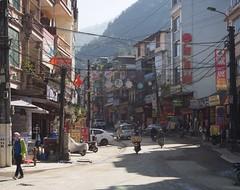 Sapa morning (grapfapan) Tags: advertising cabling street city urban vietnam sapa