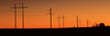 Sunset Lines (arbyreed) Tags: arbyreed infrastructure smalltown telegraphtuesday poles powerpoles electric electricpowergrid kanecountyutah sunset sky htt