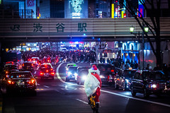 #Shibuyascapes https://500px.com/photo/239990089 (KT.pics) Tags: 500px city winter people street night urban christmas neon culture lifestyle romantic taxi happy nightlife dreamy zebra crossing tokyo crowd bycicle light shibuya lights rush hour santa claus crosswalk exploration photographer shibuyascapes