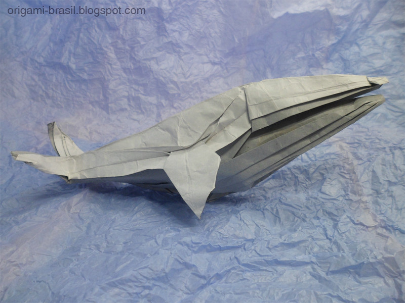 25 Origami Artist Diego Tags Paper Folding Humpbackwhale Whale